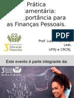 Apresentação Curso de Educação Financeira