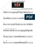 DON´T KNOW WHY - Trombone.pdf