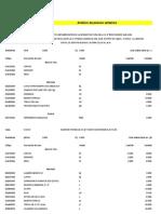 7. Analisis de Costos Unitarios Excel