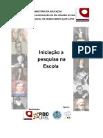 Anexo 1 Cartilha Iniciação à Pesquisa na Escola - Pibid Interdisciplinar Santa Rita.pdf