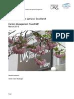 UWS Carbon Management Plan 2010