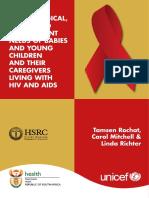 Kebutuhan Sosial Dan Psikologi Anak HIV Dengan Pengasuh