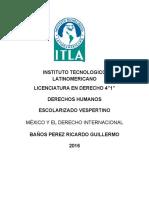 Mexico y El Derecho Internacional