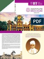 IIT BHU Brochure 2016