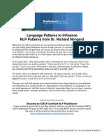 Secret Nlp Free Patterns