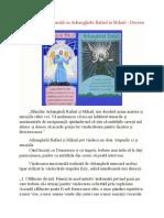 Vindecarea Emoțională Cu Arhanghelii Rafael Și Mihail