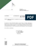 OFÍCIO DA SECRETARIA DE ESTADO DA SEGURANÇA SOCIAL COMUNICANDO A RECEÇÃO E O ENVIO DO PROJETO DE RCPAS