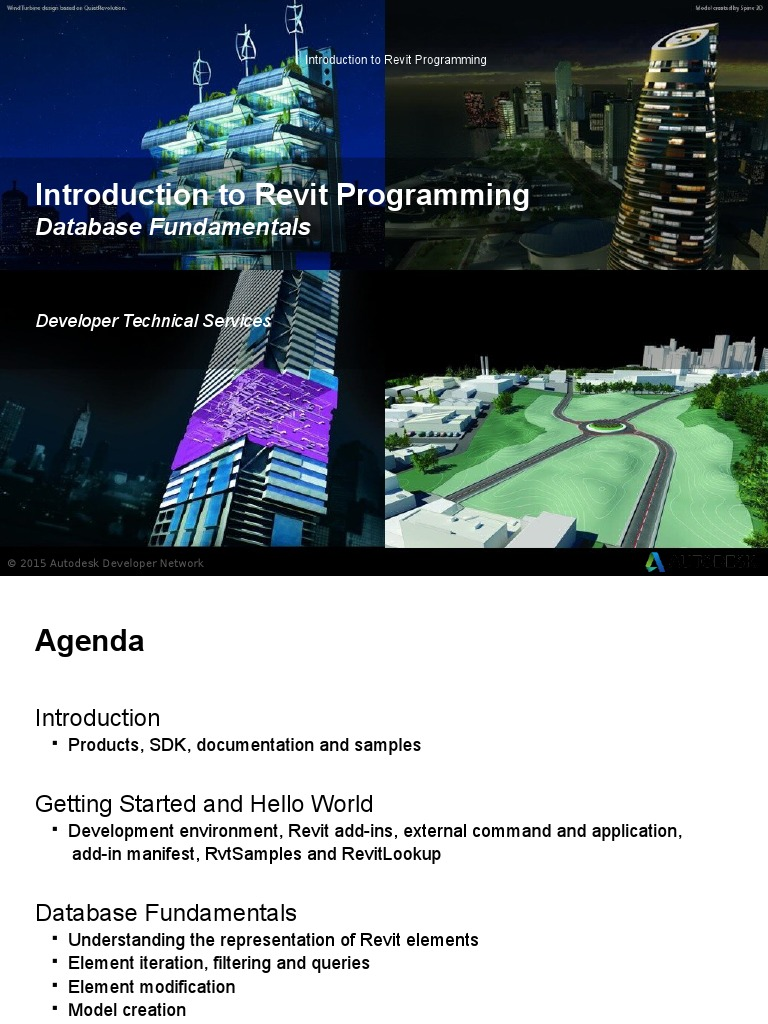 02-Revit API Programming Introduction | Autodesk Revit