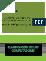 1.- Clasificación de Los Computadoras