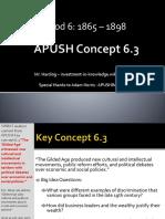 APUSH - Concept - 6.3.II - Harding