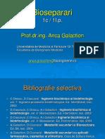 Bioseparari - platforma