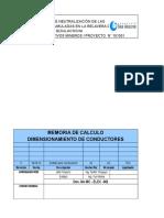 Mc -Elec-001 Rev 0 (Memoria de Calculo)