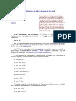 mpog estrutura atribuições