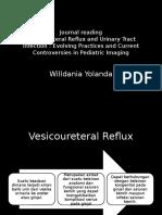 Ppt Vesicoureteral Reflux