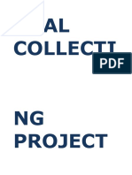 Coal Collecting Project