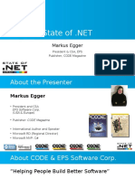 State of Dot Net