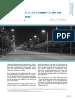 Equipamiento Comunitario en Areas Urbanas