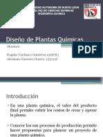 Diseño de Plantas Químicas