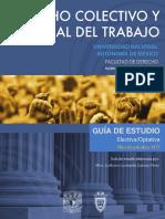 Derecho Colectivo y Procesal Del Trabajo 7 Semestre