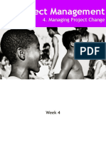 Week-4- Project Change Management