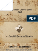 Bangladesh Labour Laws 2006.ppt