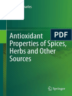 Antioxidant Properties of Spices, Herbs and Other Sources