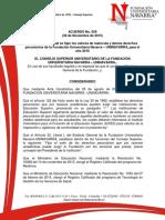 Acuerdo 009 Derechos Pecuniarios 2016