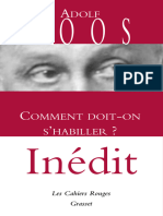 Comment Doit-On s'Habiller