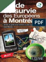 Guide de Survie Des Europeens a Montreal (1)