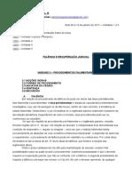 DISCIPLINA - EMPRESARIAL III - Falência e Recuperação Judicial - 10.01 - Unidade 3 e Princípios