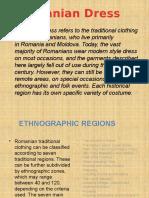 Proiect Engleza Despre Moda Romaneasca