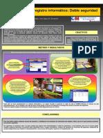 Registro Papel y Registro Informático Doble Seguridad