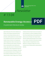 Iob Newsletter 13 04 Renewable Energy