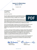 Reps. Mark DeSaulnier and Barbara Lee's Letter to UC President Janet Napolitano Regarding UCSF Layoffs