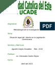 37051386-La-Problematica-del-Aborto-en-la-Legislacion-Dominicana.doc
