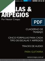GUITARRA - GRATIS - Libro de Escalas y Arpegios
