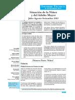 Ninez y Adulto Mayor Jul Set 2013