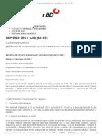 SCP 0919-2014 -AAC (15-05) Falsificacion de Documentos y Nulidad de Documentos