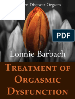 Treatment of Orgasmic Dysfunction