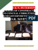 Crushing U.S. CORRUPTION - Jack N. Peterson & Crooked Judge C. E. Honeywell