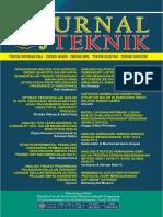 Jurnal Teknik FT UMT Vol 5 No 1 Tahun 2016