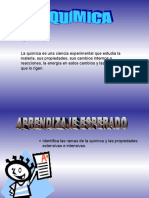 Diapositivas de Ramas de La Quimica