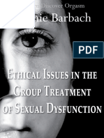 Ethical Issues in the Group Treatment of Sexual Dysfunction