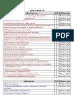Projeto PRF&PF