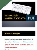 Curso Normalizacion Metrologia y Calidad