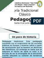 Defensa Pedagogía