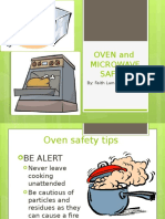 oven and microwave safety