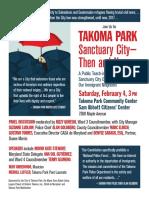 Sanctuary City Flyer