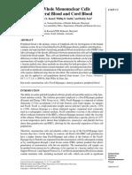 Protocolo Extracción de Mononucleares
