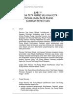 Pedoman Penyusunan RDTRK bab 4